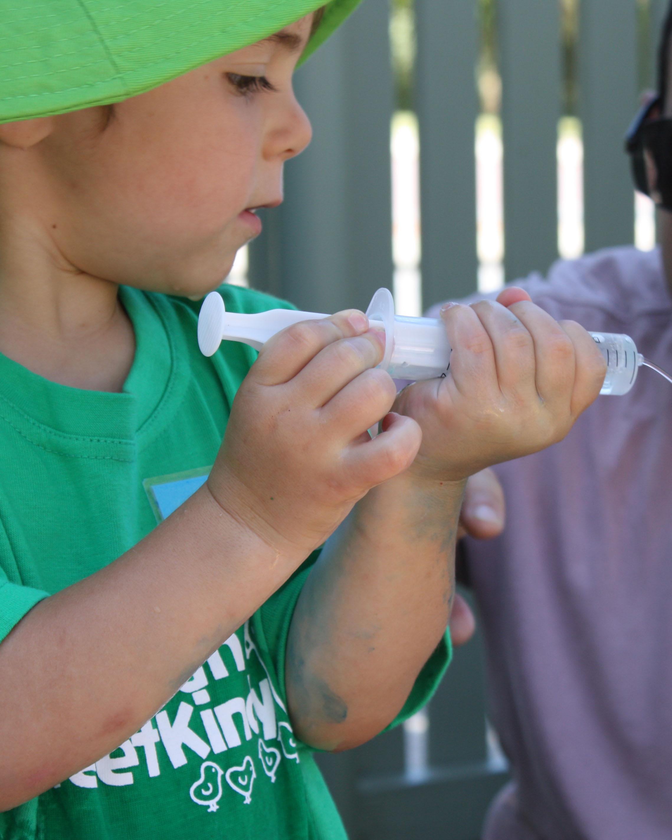 Little Scientist Mitchell